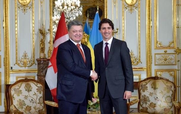 В Украину прибыл премьер-министр Канады Трюдо