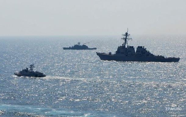 В Черном море стартовали учения НАТО