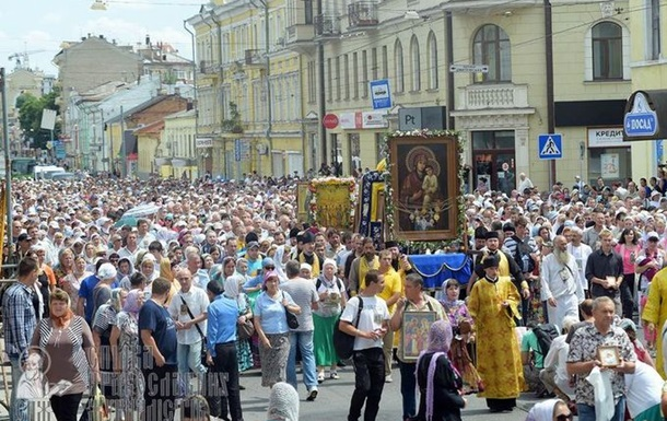 СБУ занялась крестным ходом по Украине - Геращенко