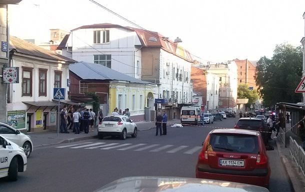 У центрі Харкова застрелили чоловіка