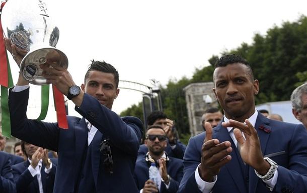 Как встречали чемпионов: сборная Португалии вернулась домой