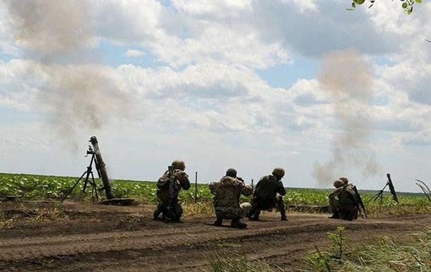 Доба в АТО: посилилися обстріли з мінометів