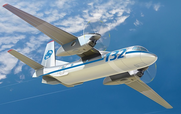 Украинский самолет Ан-132 получил британские детали