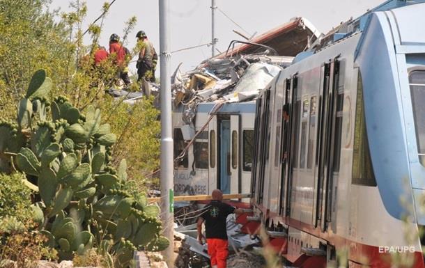 Названо попередню причину зіткнення поїздів в Італії