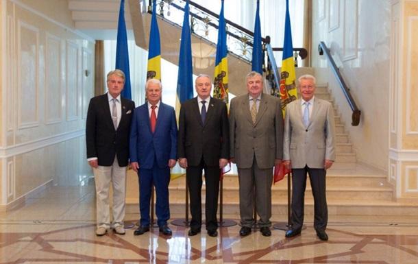 У Кишиневі зустрілися екс-президенти Молдови та України