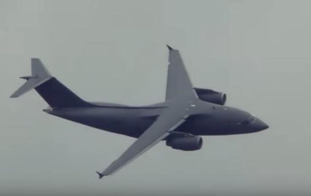 Появилось видео полета Ан-178 на авиасалоне