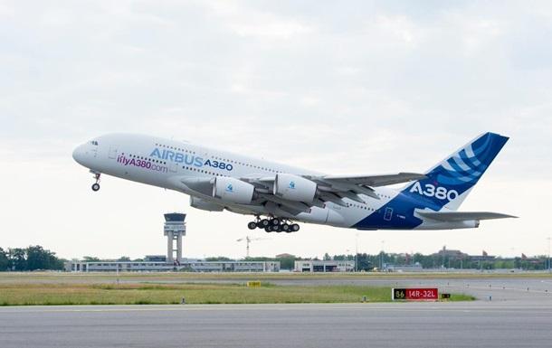 Airbus різко скоротить випуск найбільших літаків