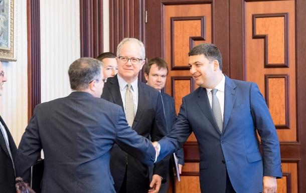Гройсман зустрівся з керівництвом Міненергетики США