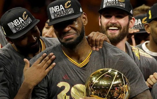 НБА. ЛеБрон отримав три нагороди ESPY