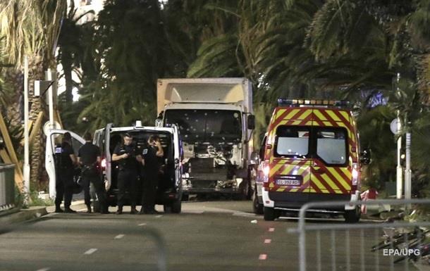 Кількість жертв атаки в Ніцці зросла до 84 осіб