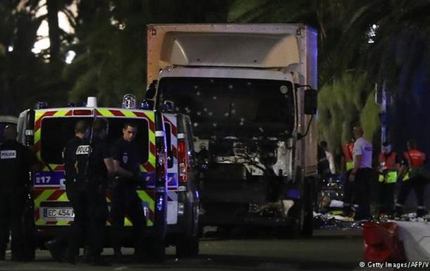 ЗМІ: Нападник у Ніцці був з кримінальним минулим