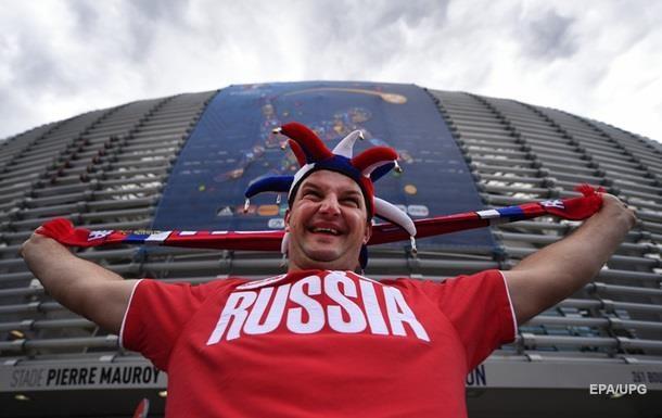 МВС Росії опублікувало чорний список футбольних фанатів
