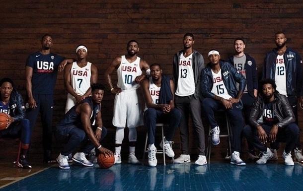 Nike скрывает конкурентов на фото олимпийской сборной США