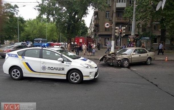 В аварии в Одессе пострадала жена известного комика