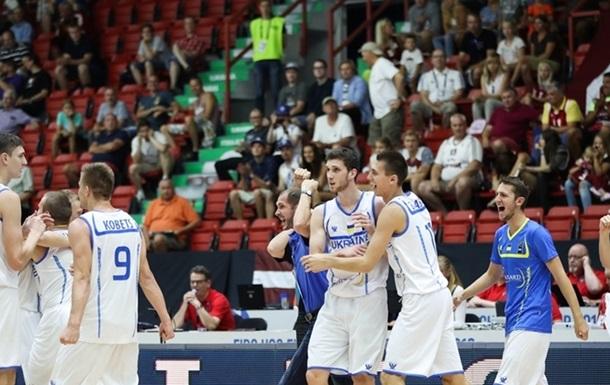 Молодежная сборная Украины по баскетболу обыграла Латвию