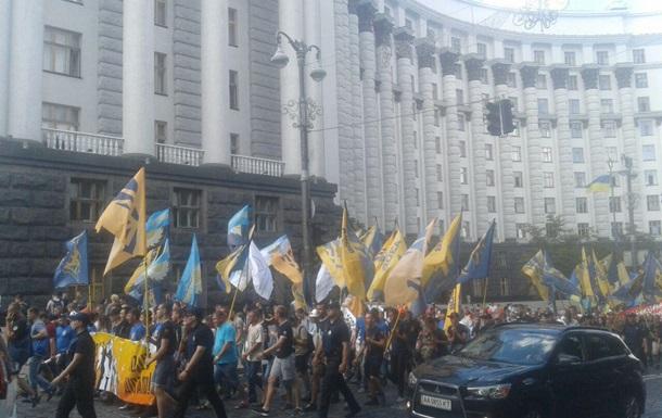 Полтысячи  азовцев  прошли антитарифным маршем