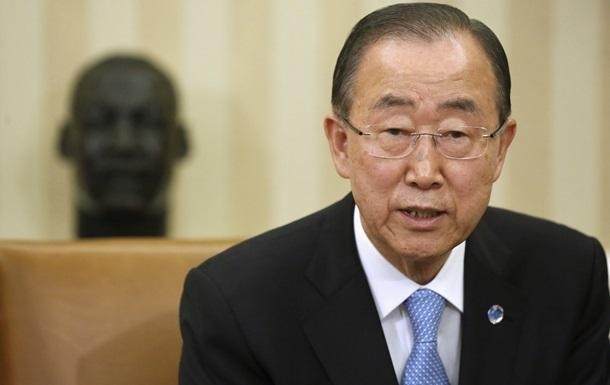 Пан Гі Мун закликав владу Туреччини поважати права громадян