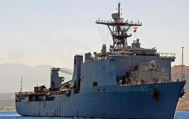 У Чорне море увійшов десантний корабель США