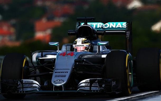 Формула 1. Гран-прі Угорщини. Хемілтон - лідер першого тренування