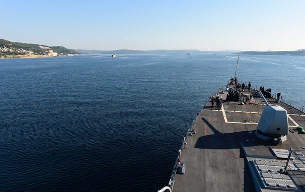 Ракетний есмінець ВМС США увійшов у Чорне море