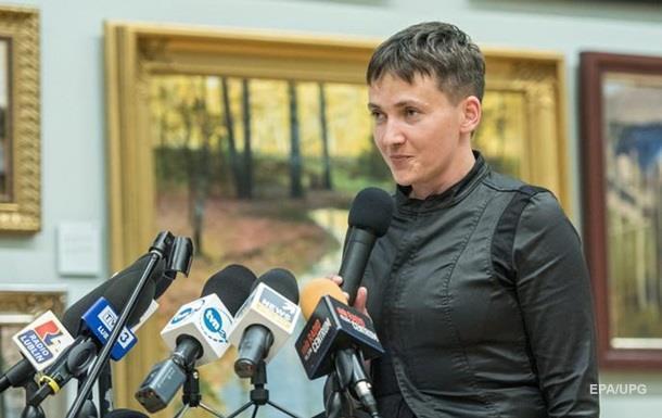 Савченко заявила, что обязана стать президентом
