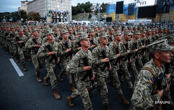 На параді в Києві обіцяють багато техніки і бійців АТО