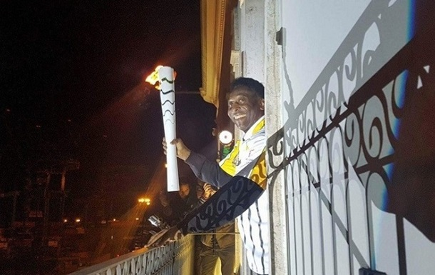 Пеле зажжет олимпийский огонь Рио-2016?