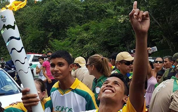 В Бразилии пытались украсть Олимпийский факел