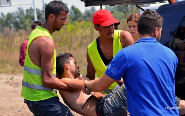 Столкновения в лагере мигрантов: один погибший