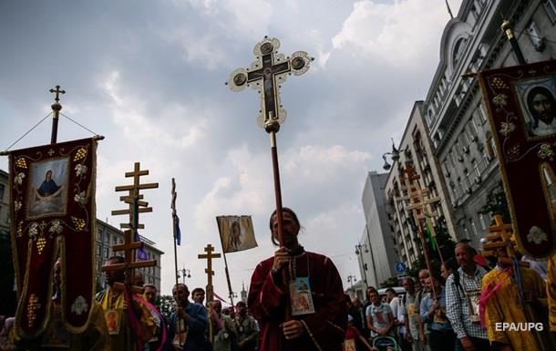 В УПЦ насчитали 100 000 участников Крестного хода