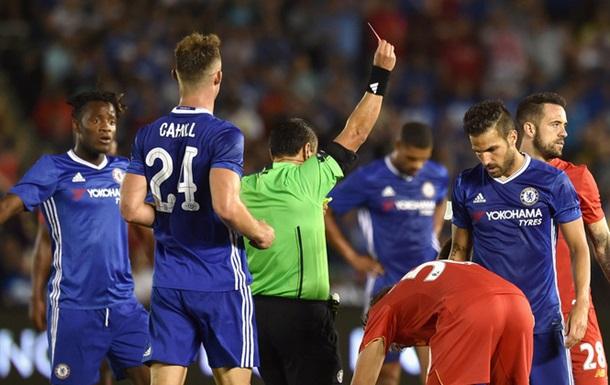 Игрок Челси чуть не сломал ногу сопернику из Ливерпуля в товарищеском матче