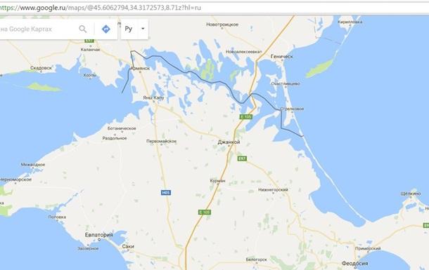 В Крыму ответили на  декоммунизацию  на картах Google