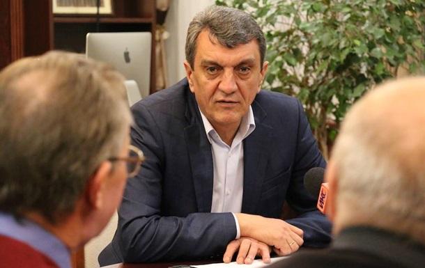 Путін прийняв відставку губернатора Севастополя