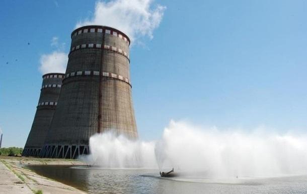 На Запорожской АЭС остановлен энергоблок