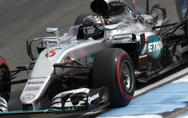 Формула 1. Гран-прі Німеччини. Росберг - лідер другого тренування