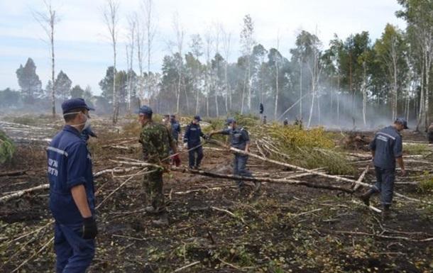 У Чорнобильській зоні знову пожежа
