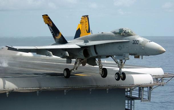В США разбился истребитель, пилот погиб