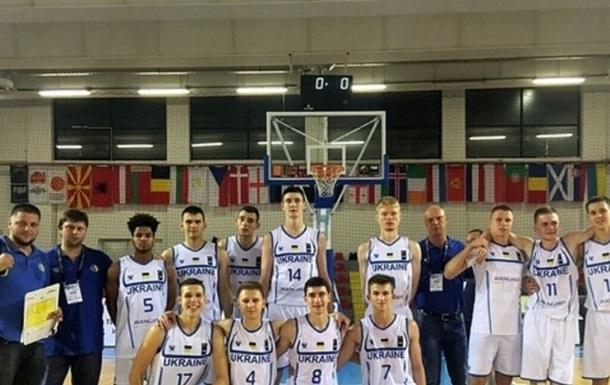Евробаскет U-18: Украина стартует с победы
