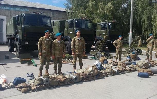 Украинские десантники едут на учения в Литву