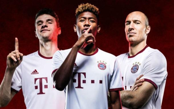 Чья форма уродливее: Реал, Бавария или МЮ?