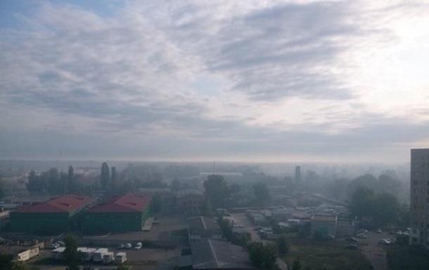 ДСНС: Рівень забруднення повітря у Києві знижується