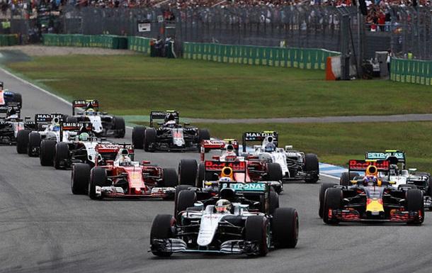 Формула 1. Гран-прі Німеччини. Хемілтон святкує успіх в Хоккенхаймі