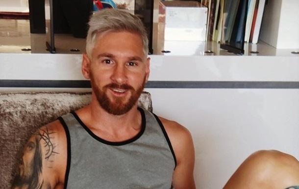 Блондин Месси  и другие лучшие футбольные мемы недели