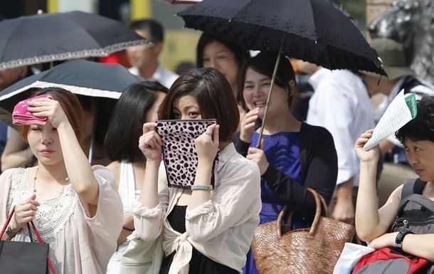 В Японії через спеку за добу загинуло п ять людей