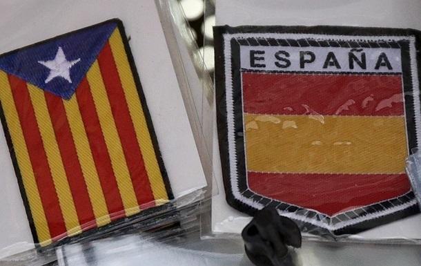 В Испании приостановлена резолюция о независимости Каталонии