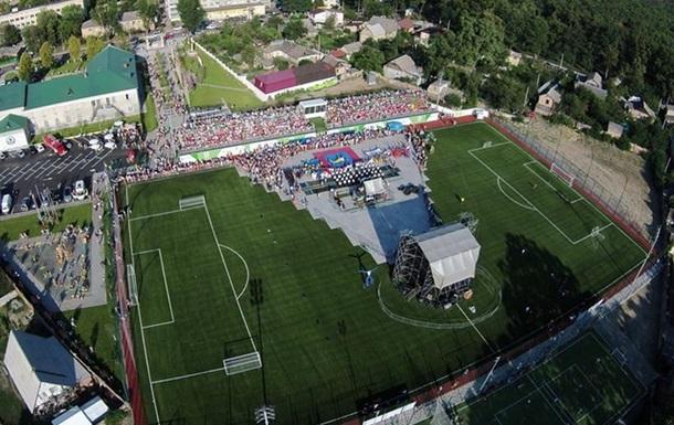 Ми відкрили в Ірпені стадіон європейського рівня