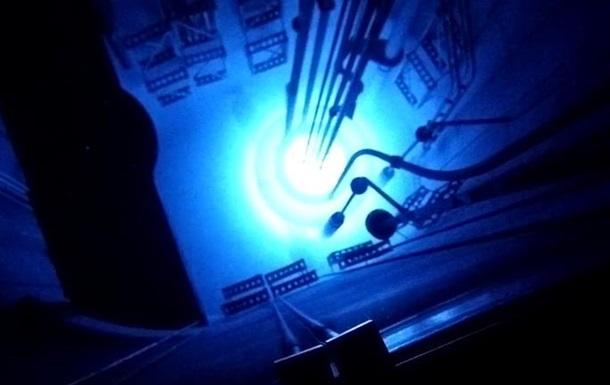 Ядерний вибух в реакторі зняли на відео
