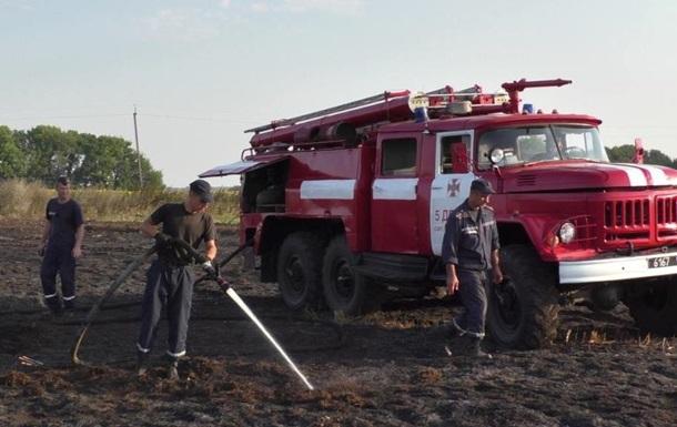 На Чернігівщині горять торфовища