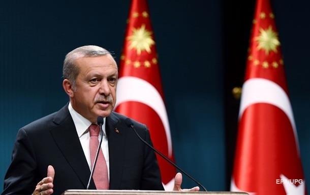 Ердоган винить Захід у підтримці держперевороту