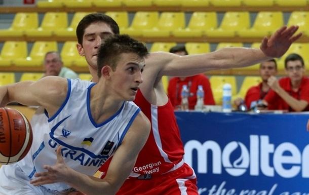 Евробаскет U-18: Украина уступает Грузии